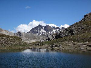 Proche du Col Agnel dans le Queyras, le lac Foréant