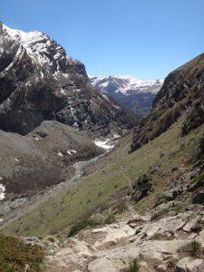 Randonnée à travers la Parc National des Ecrins
